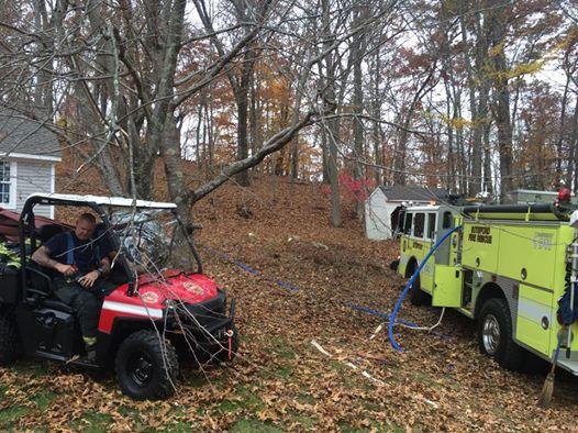Sandy Hook Brush Fire